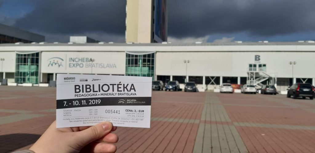 Bibliotéka 2019 Incheba Expo aréna november